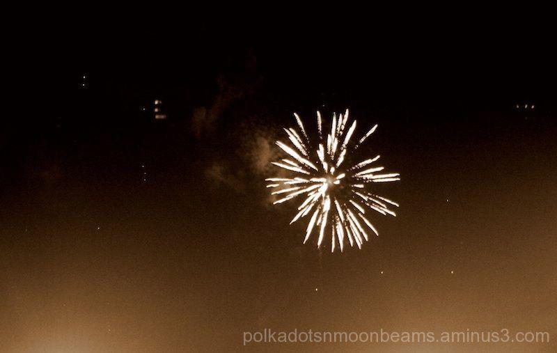 fireworks light sky night