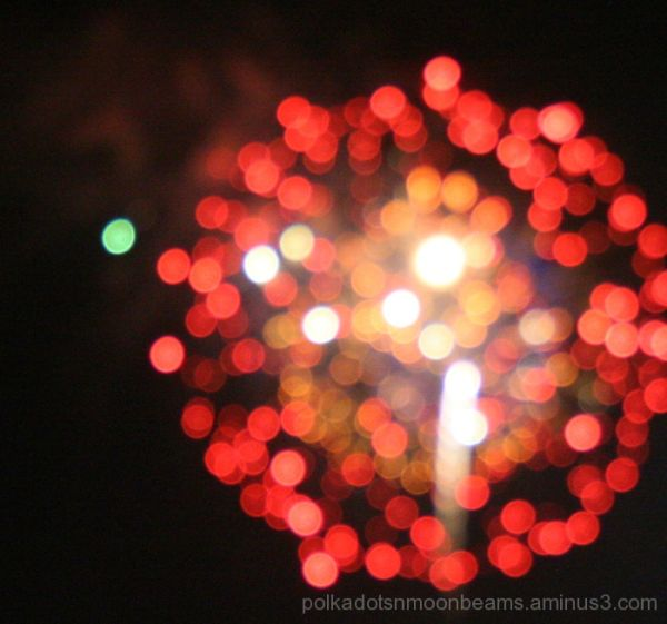 fireworks light sky night bokeh