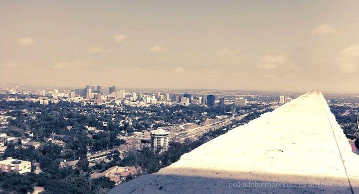 los angeles california getty skyline