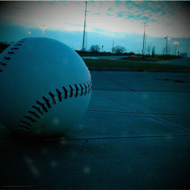 Baseball in March in Nebraska