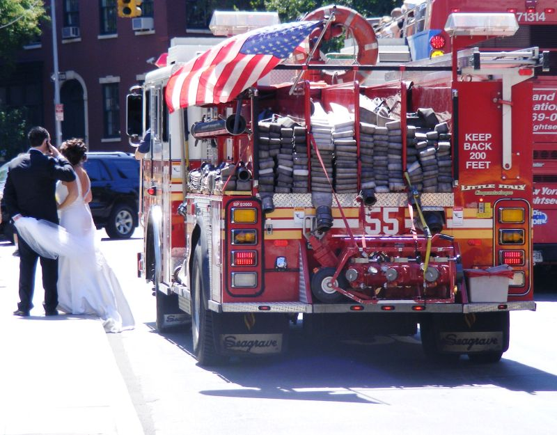 A wedding in New-York