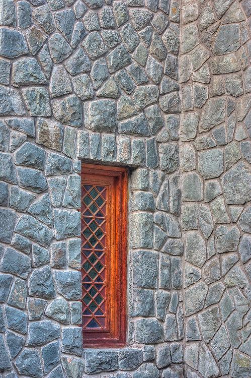 Window, wall, jamshidie park, tehran, Iran