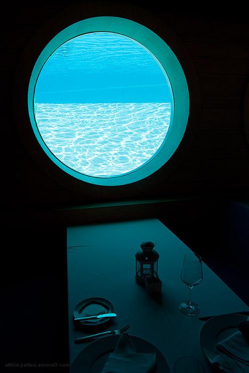Window, swimming pool, restaurant