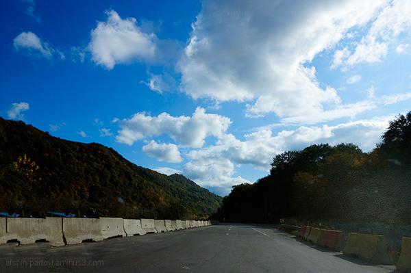 Haraz Road, Amol, Central Alborz Mountain, Cloud