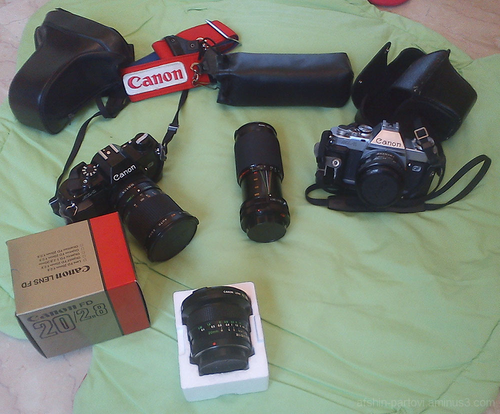 Old Stuff, Film camera, Canon AL-1, Analogue