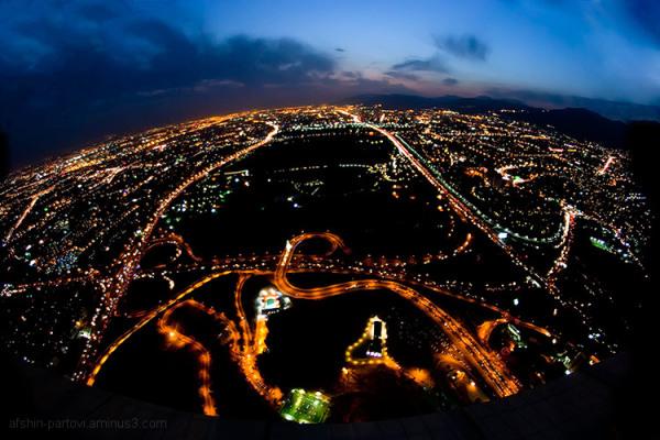 Tehran night, Milad tower