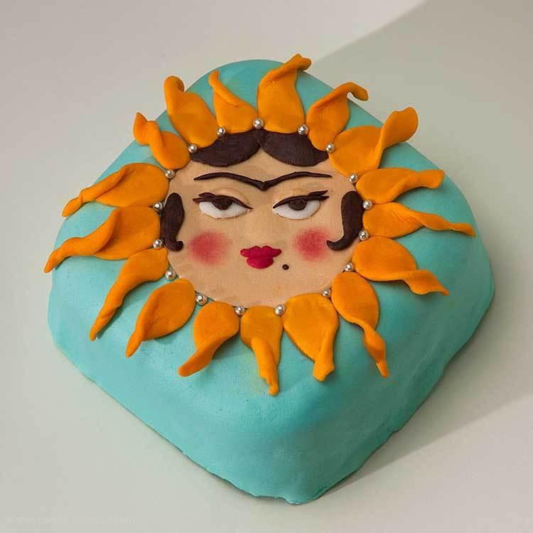 Cake decoration, Miss Sunshine
