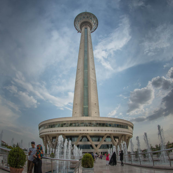 Tehran, Milad Tower, Ultra Wide