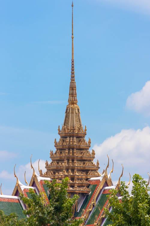 Bangkok, Thailand, river side, thumb