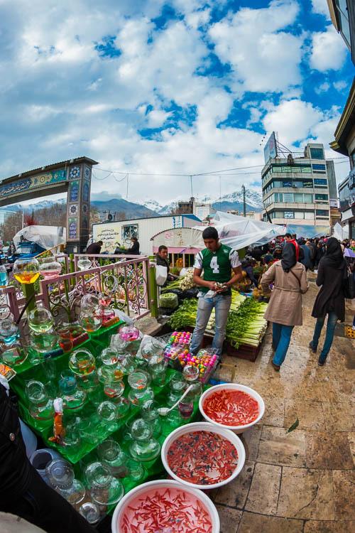 Nowruz, Tajrish, Market, Street, Haft sin, Persian