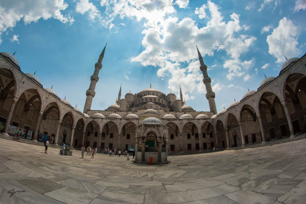 Blue, Mosque, Sultan Ahmed, Istanbole, Turky