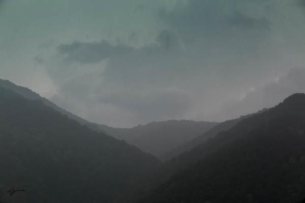 Caucasus or Ghafghaz Mountains, Sochi, Russia