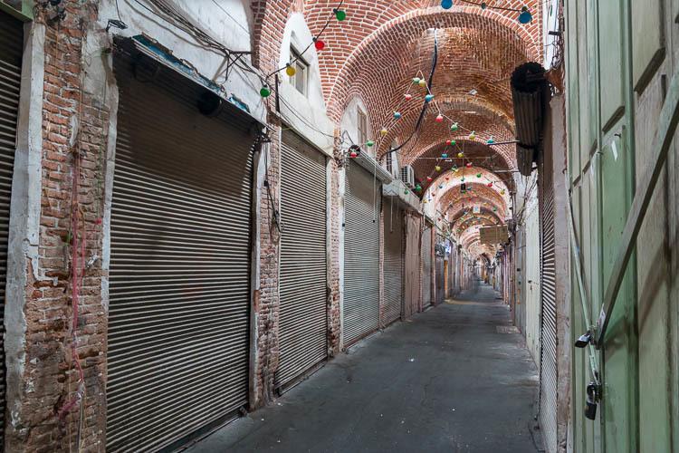 Tabriz, bazaar, 2018 tourism capital
