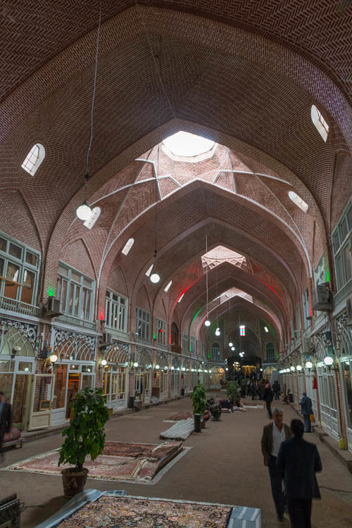 Tabriz, Bazaar, Mozafarie Hall, 2018
