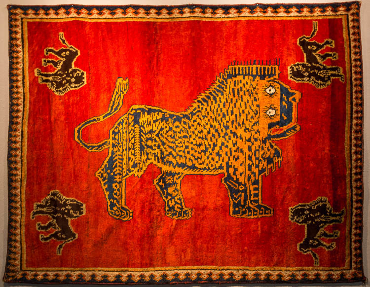 Parviz Tanavoli, Iranian Lion, TMoCA