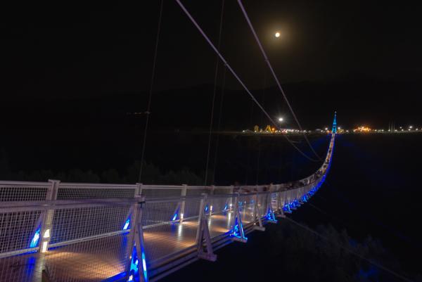 Meshkinshar suspended bridg, Azarbayejan