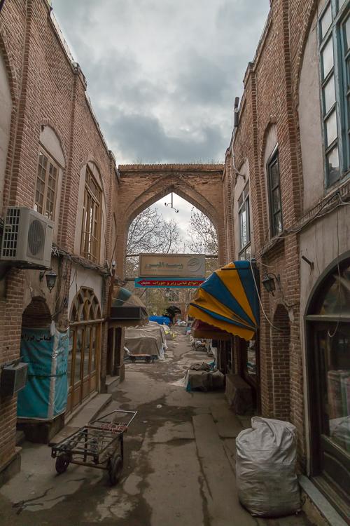 Tabriz, Bazar, Architecture