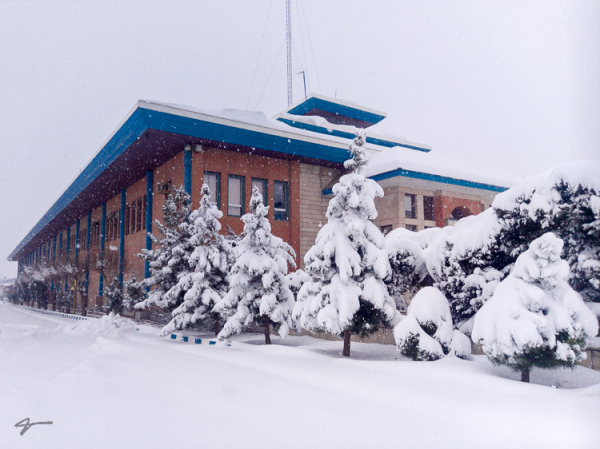 IKCo R&D, winter, Snow