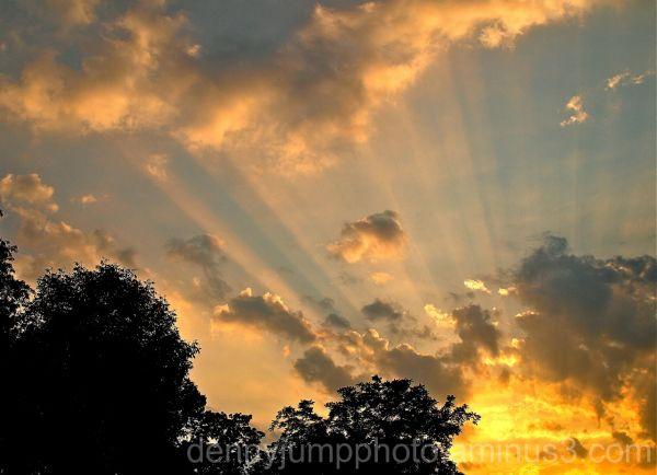 Easton, PA Sunset July 6 2010
