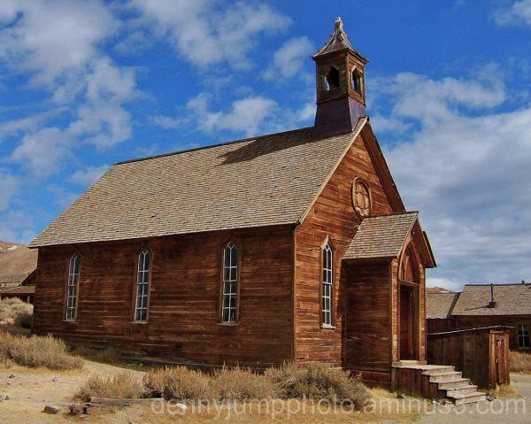 Methodist Church    Bodie State Historic Park