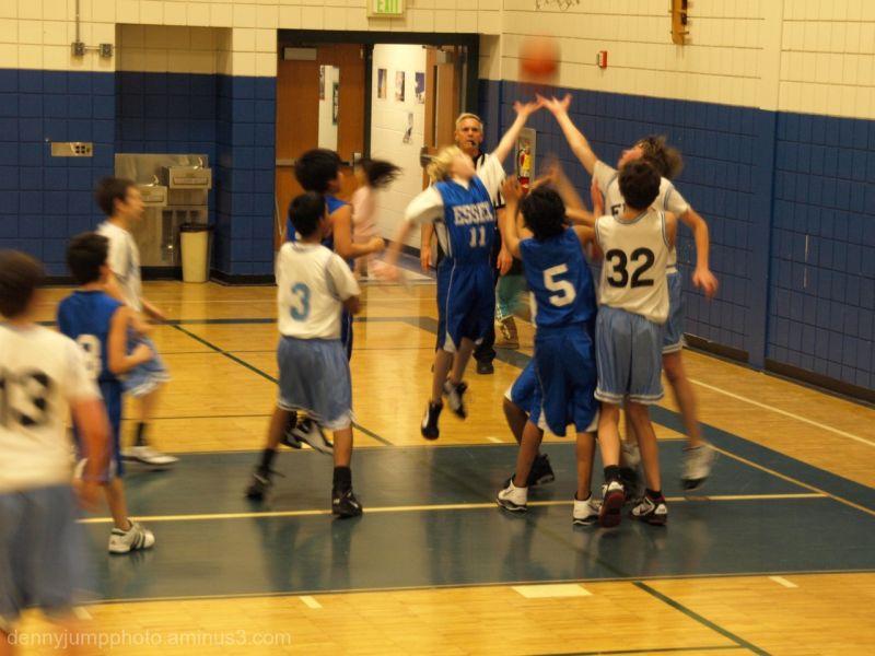Tyler's Basketball Team