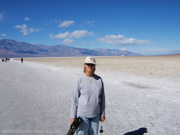 Salt Flats at Badwater   Death Valley
