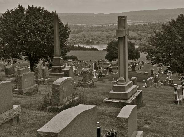 Mt Zion Cemetery near Martin's Creek, PA
