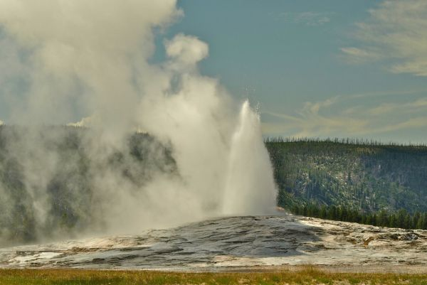 Old Faithful Beginnig