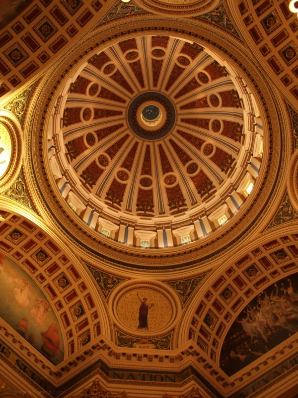 Pennsylvania State Capital Rotunda / Cupola
