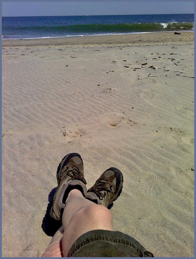 Sand Raking is Hard Work