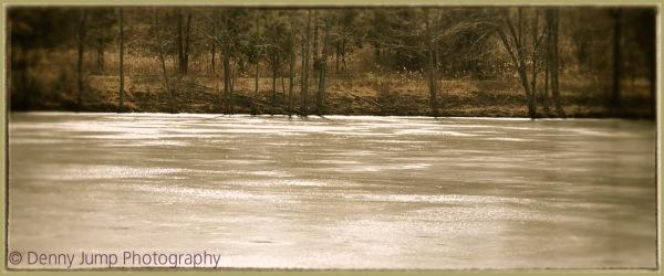 Voir le dégel de la glace