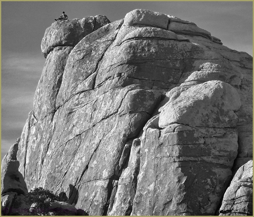 Josua Tree Rock Climbing