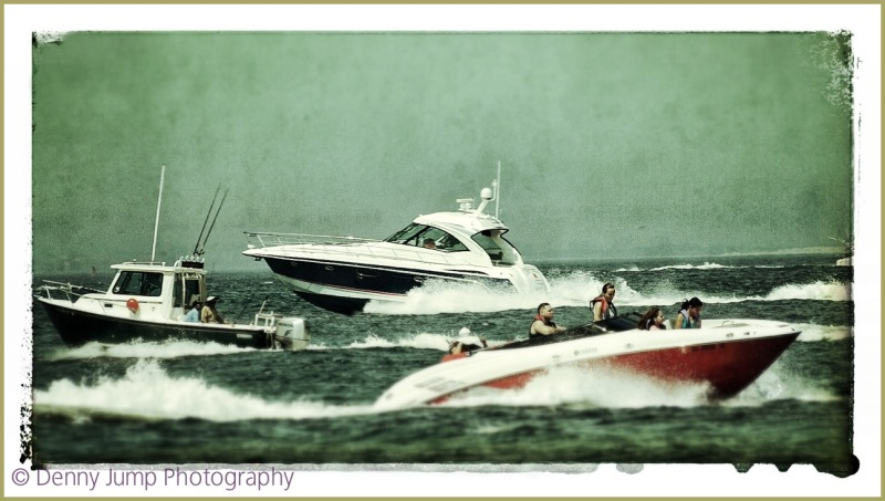 Keystone Cops at Sea