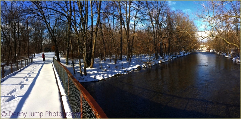 Winter Footbridge