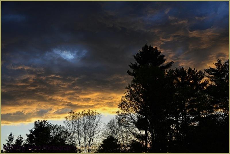 A Vermont Sunset