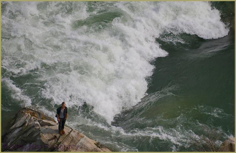 Niagara River Mowhawk Guy