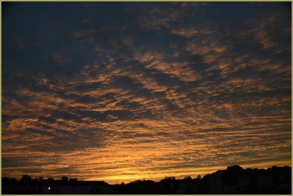 Sunset ast night