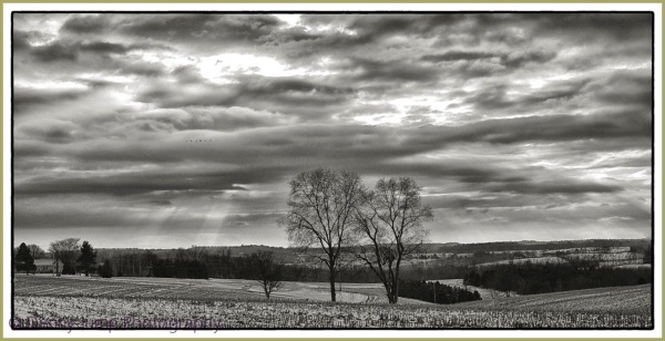Wintertime in Pennsylvania