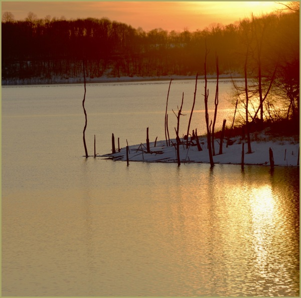 Merrill Creek Winter Sunset