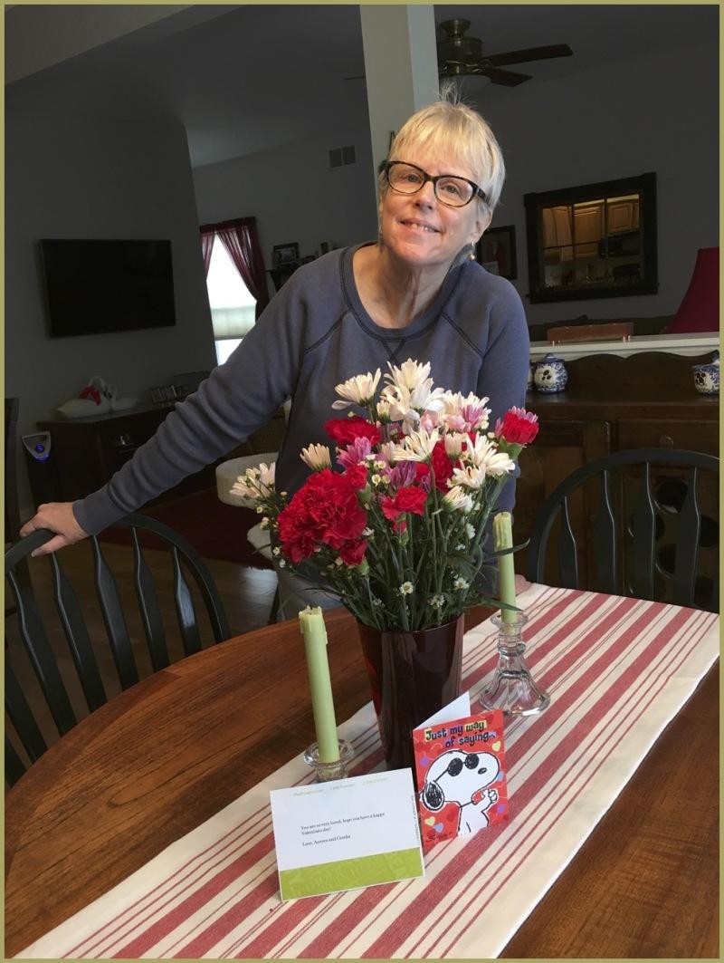 Valentine Flowers for Grandma