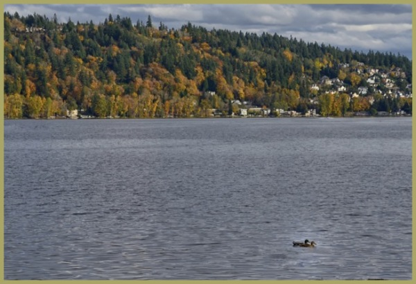 Autumn Sunday on the Lake