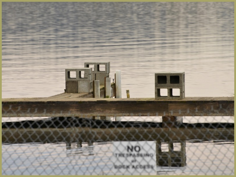 Blocks on the Pier