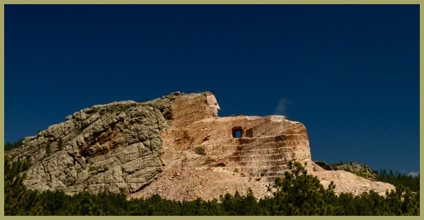 Crazy Horse Memorial - Mount Rushmore