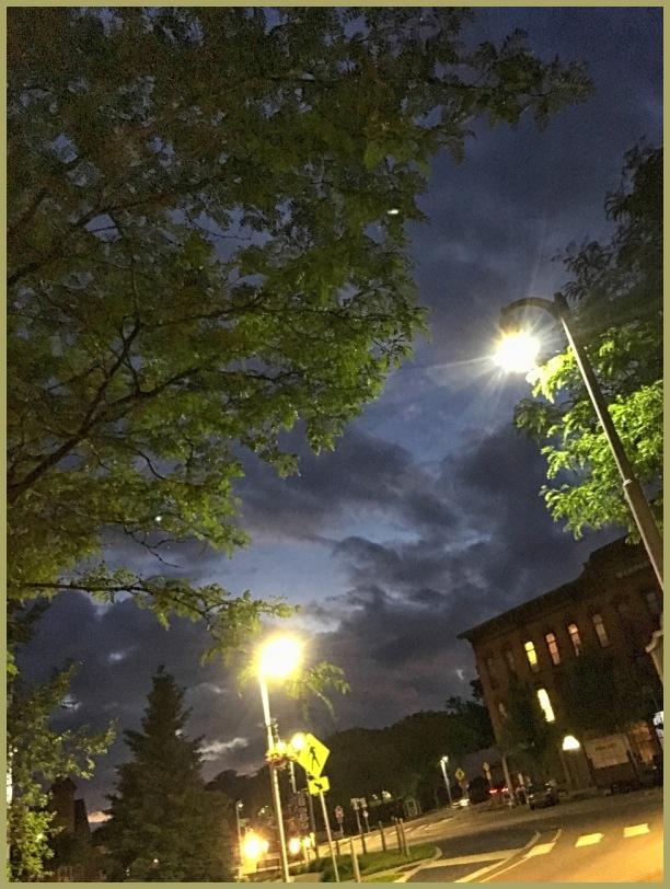 Winooski Vermont by night