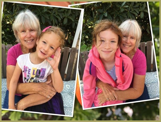 Cecelia, Aurora and Grandma Barbara