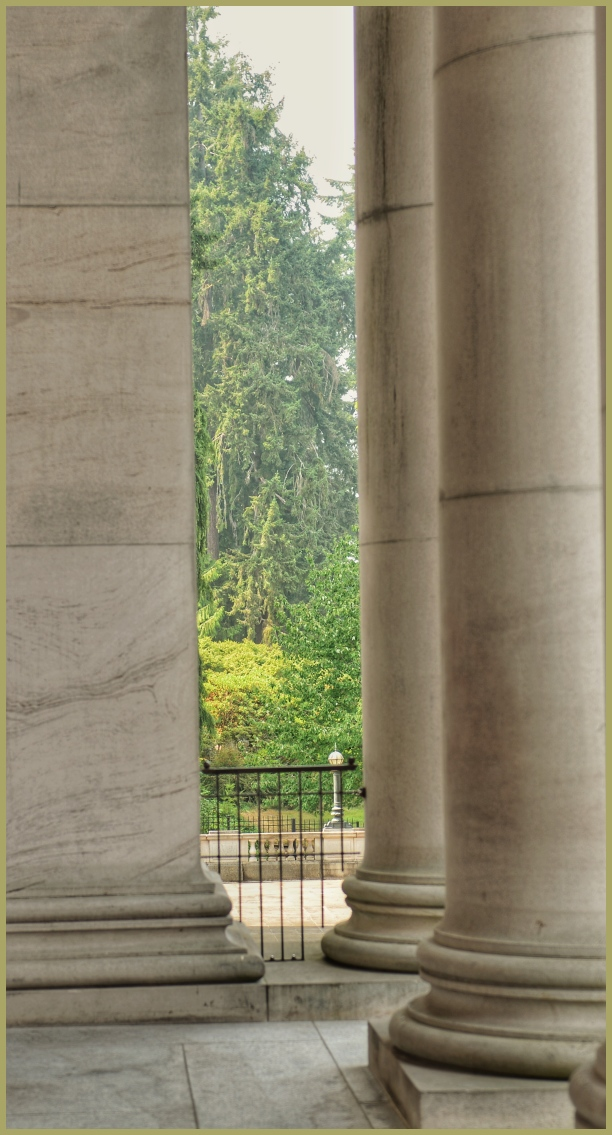 Through the Pillars of Olympia, Washington