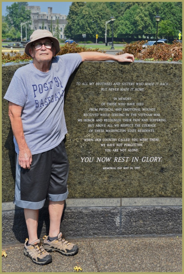 Washington State Vietnam veteran's Memorial Wall