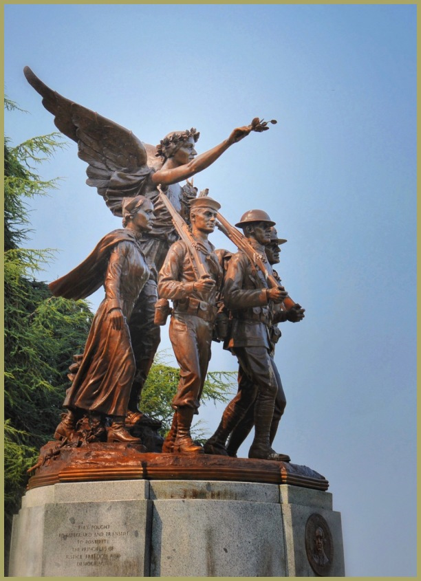Washington State Capital   Winged Victory Monument
