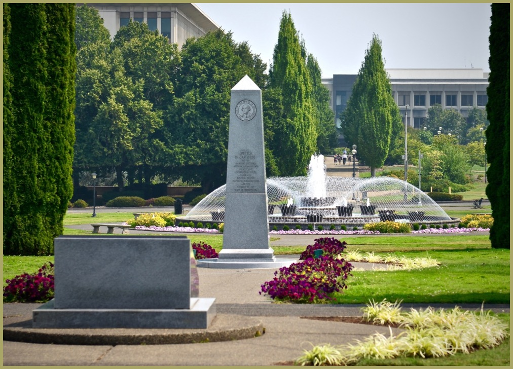 Washington State Capital Grounds - Memororial