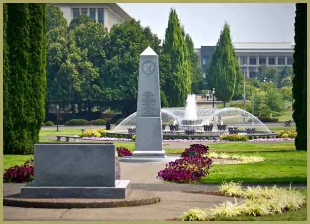 Washington State Capital   Memorials